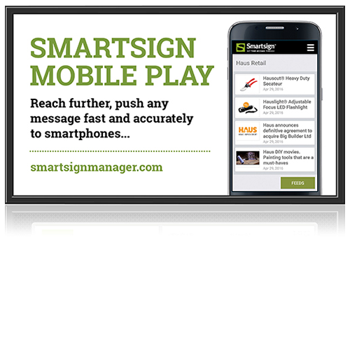 Smartsign Display Manager
