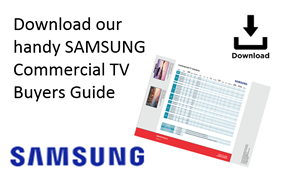 Samsung Commercial TV