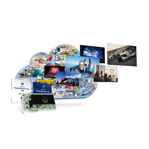 Matrox Maevex 6100 Quad 4K Enterprise Encoder Card